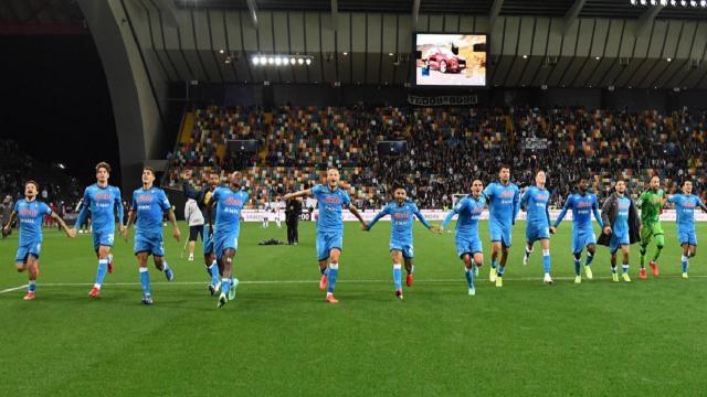 Udinese-Napoli 0-4, highlights. Spalletti da solo in vetta a punteggio pieno