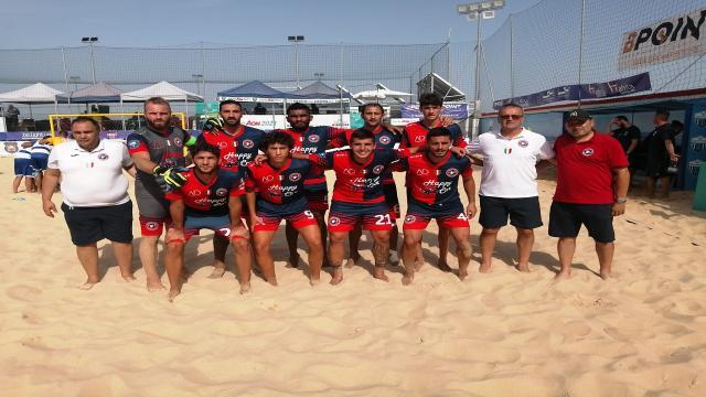Beach soccer, Samb chiude terza in Coppa Italia. Superata Terracina per 2-0
