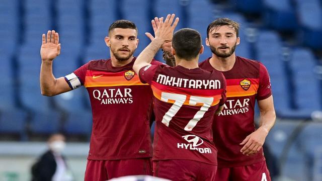 Roma-Crotone 5-0, highlights
