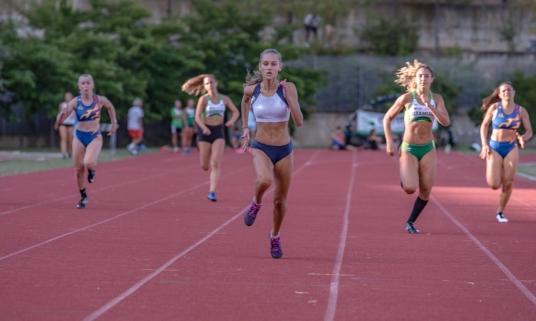 Atletica leggera, la 15enne marchigiana Pagliarini vola a 9 e 76 negli 80 metri