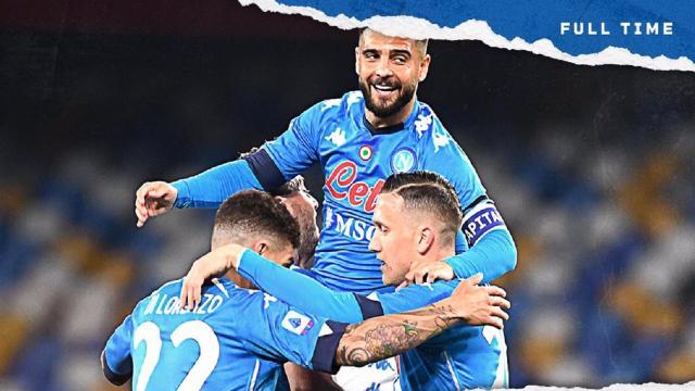Napoli-Bologna 3-1, highlights