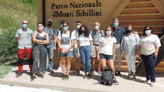 Parco Nazionale dei Monti Sibillini, visita degli studenti dell'Unicam
