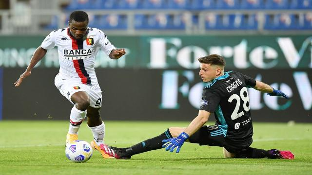 Cagliari-Genoa 0-1, highlights