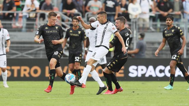 Venezia-Spezia 1-2, highlights