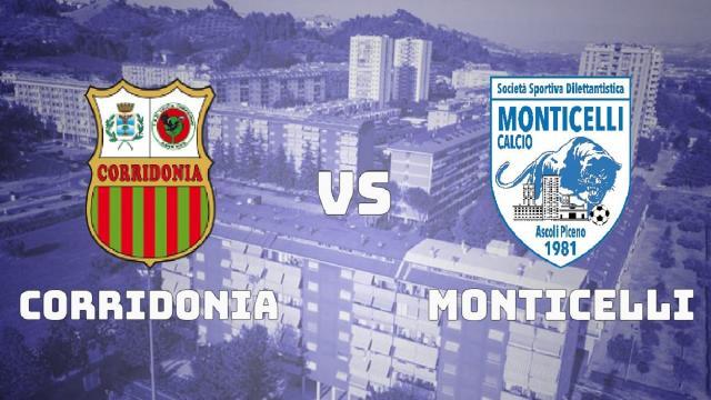 Promozione girone B, il Monticelli finisce ko di misura a Corridonia su calcio di rigore