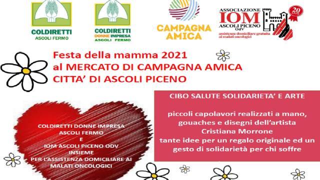 Ascoli Piceno: Iom e Coldiretti Donne Impresa, giornata di salute e solidarietà per Festa della Mamma