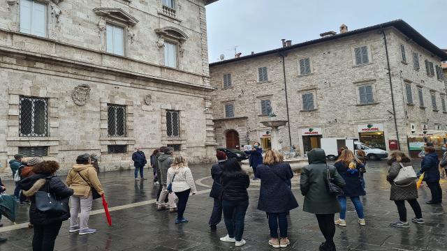 Giornata mondiale del diabete, successo per ''Le torri medievali ad Ascoli''