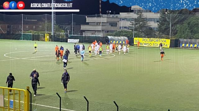 Coppa Italia Eccellenza Marche: l'Atletico Ascoli pareggia in rimonta 2-2 col Porto d'Ascoli