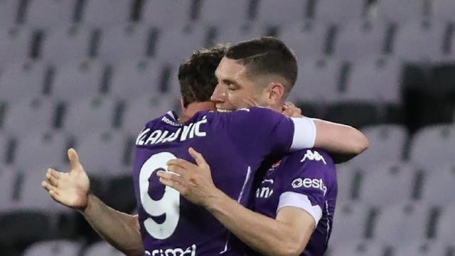Fiorentina-Lazio 2-0, highlights