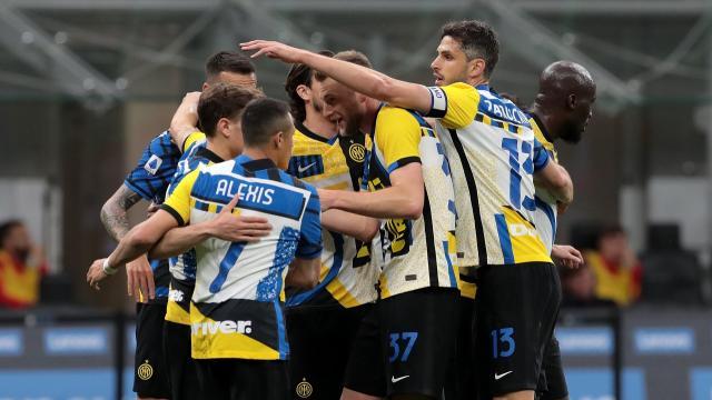 Inter-Roma 3-1, highlights