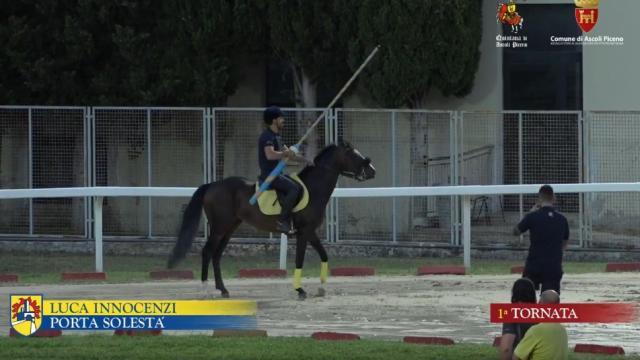 Quintana di Ascoli, prove ufficiali: Innocenzi e Zannori sono stati i più veloci. Cade Gubbini