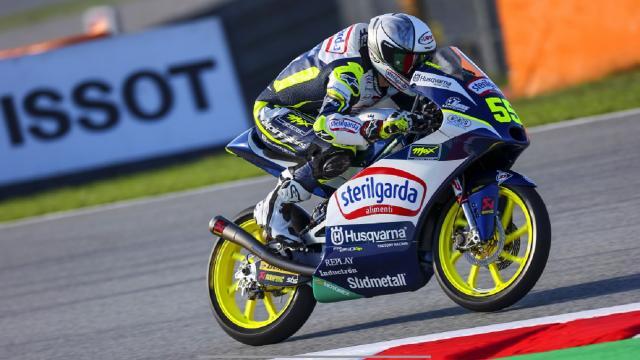 Moto3, Fenati in forma nelle prime libere a Barcellona: ''Feeling molto buono, sono contento''
