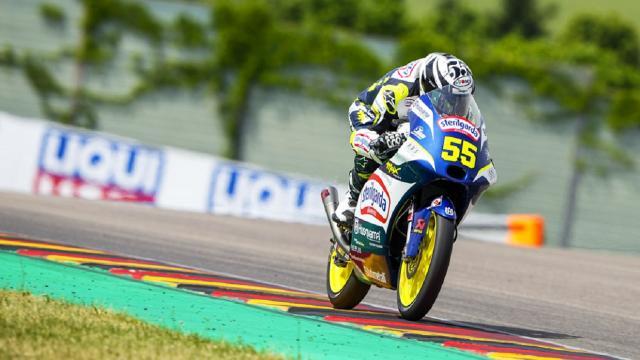 Moto3: Gran Premio di Germania, Fenati rischia due volte di cadere ma riesce a chiudere in zona punti