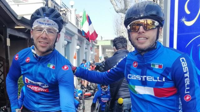 Paraciclismo, nel segno del colore azzurro la nuova stagione per i marchigiani Farroni e Stacchiotti