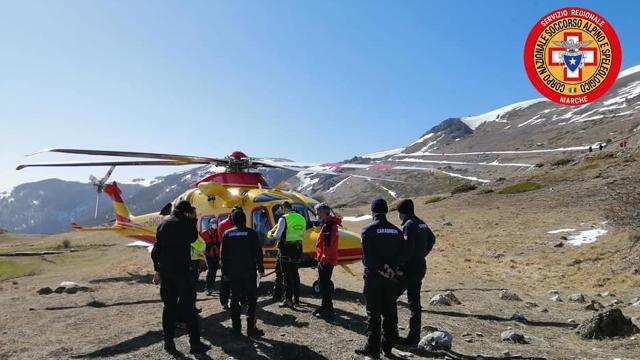 Monte Vettore, trovato senza vita l'escursionista disperso da ieri