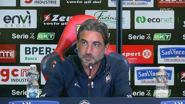 """Crotone-Pisa 2-1, le voci di Modesto (""""Volevamo prima vittoria"""") e D'Angelo (""""Partiti male ma meritavamo il pari"""")"""