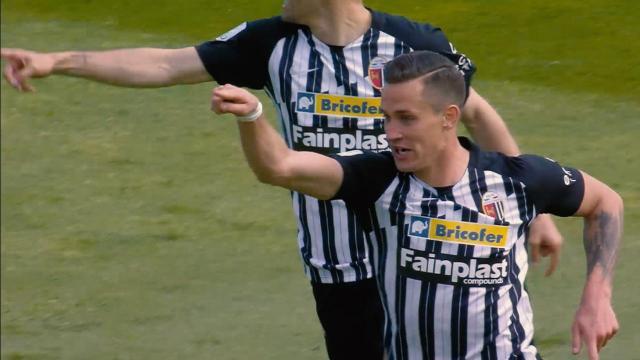 Ascoli Calcio, è Saric la vera sorpresa del campionato bianconero con 34 presenze e 104 falli subìti