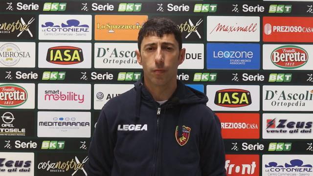 """Salernitana-Cosenza 0-0, le voci di Castori ed Occhiuzzi (""""Tutti compatti verso la salvezza"""")"""