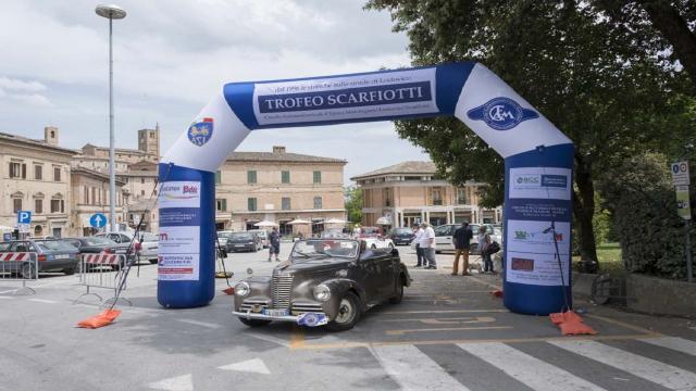 Sarnano, tutto pronto per la 25esima edizione del Trofeo Scarfiotti per auto d'epoca
