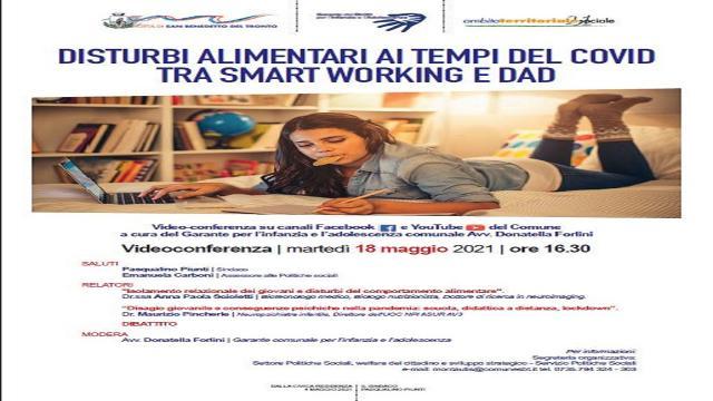 San Benedetto, convegno sul rapporto tra disturbi alimentari e dad