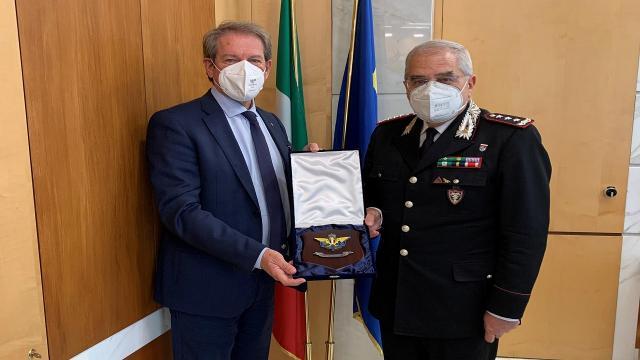 L'Arma dei Carabinieri e la Federazione Motociclistica Italiana rafforzano collaborazione per la tutela del territorio