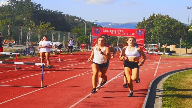Atletica leggera, torna il raduno per giovani nelle strutture universitarie di Camerino