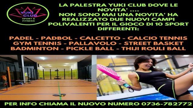 Ascoli Piceno, tante novità alla palestra Yuki Club. Per chi non ha Green Pass lezioni all'aperto