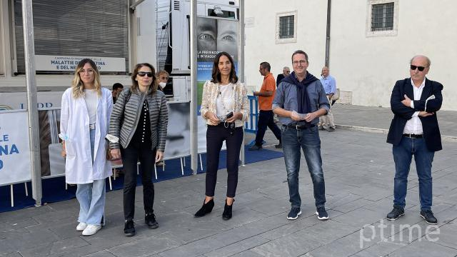 Ascoli Piceno, presentate Giornate Prevenzione Cecità. Truck oftalmologico in Piazza Arringo