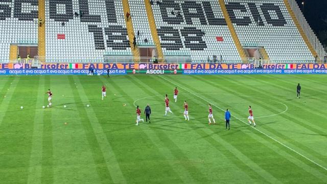 Ascoli Calcio, prime ammonizioni stagionali per Pucino e Saric. Stangato fisioterapista Reggiana