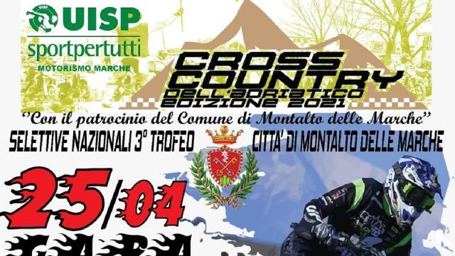 Montalto Marche, il 25 Aprile prima tappa del Cross Country dell'Adriatico 2021