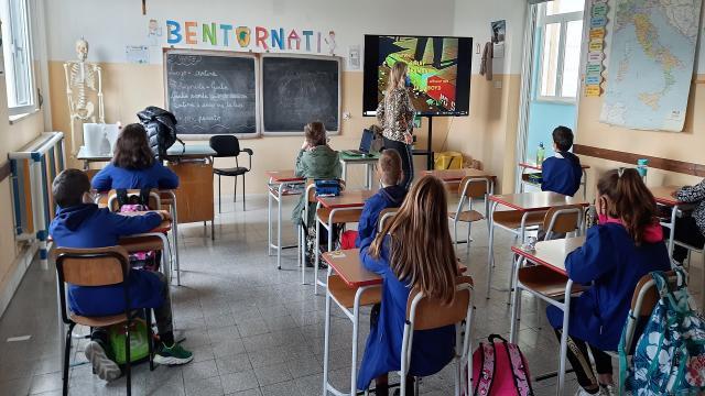 Appignano del Tronto, la scuola primaria verso Rifiuti Zero