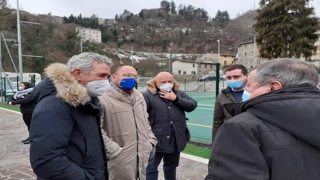 Regione Marche, screening Covid alla zona Sae di Arquata inaugura fase 2 Area Vasta 5