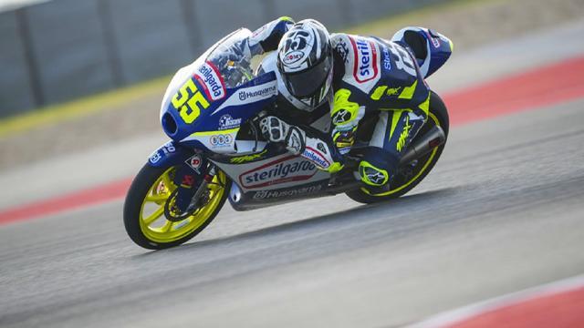 Moto3, Fenati scatta dalla quarta fila nel Gran Premio delle Americhe: ''Non siamo messi male''