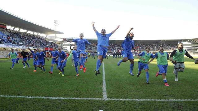 Monticelli Calcio, sei anni fa la storica vittoria per 5-4 in casa della Sambenedettese