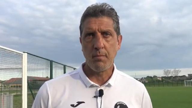 Atletico Ascoli-Sangiustese 1-1, la voce di Aloisi: ''Gara molto spigolosa, dispiace perchè potevamo raddoppiare''