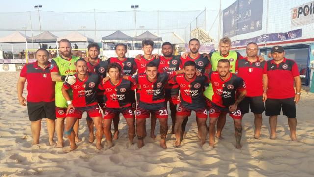 Beach soccer, la Samb supera 2-1 Napoli e vola in semifinale di Coppa Italia