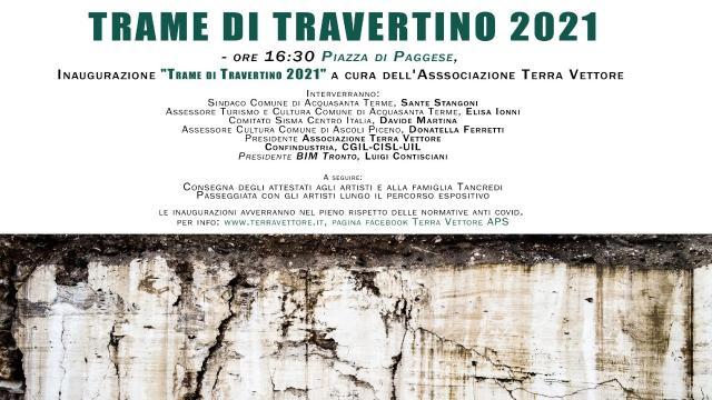 Acquasanta Terme, torna Simposio 'Trame di Travertino'. Assessore Ionni: ''Un fiore all'occhiello''