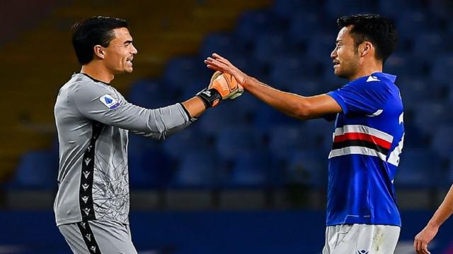 Sampdoria-Lazio 3-0, highlights
