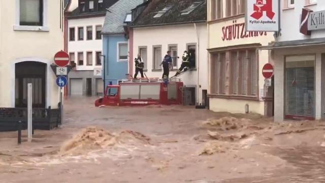 """Ascoli Piceno, Fioravanti: """"Vicini alla comunità di Treviri colpita da terribile alluvione"""""""