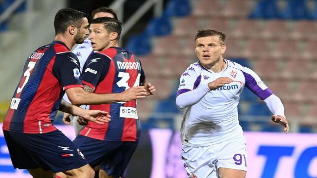 Crotone-Fiorentina 0-0, highlights