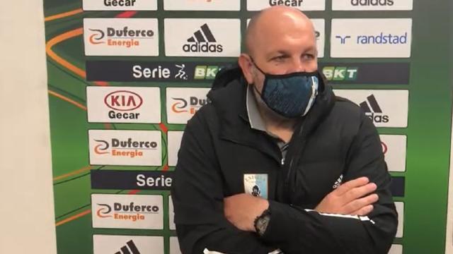 """Entella-Venezia 0-2, Tedino: """"Siamo stati ingenui. Usciremo insieme da questo momento difficile"""""""
