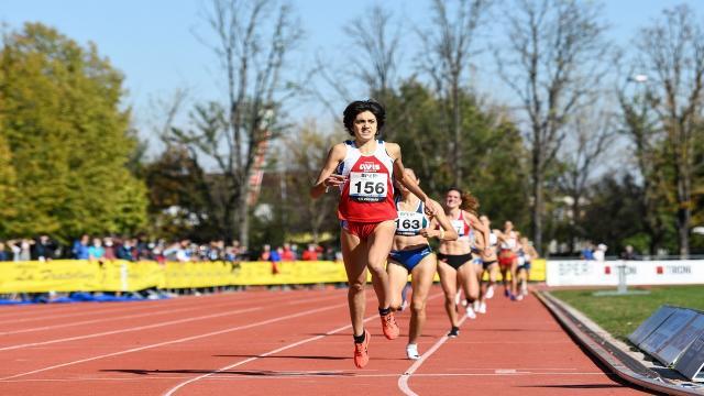 Atletica leggera, la marchigiana Vandi campionessa italiana nei 1500 metri
