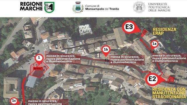 Monsampolo del Tronto: in arrivo 1,4 milioni per riqualificazione centro storico