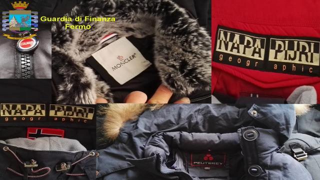 Guardia Finanza Fermo, individuata fabbrica clandestina di prodotti contraffatti. Maxi sequestro