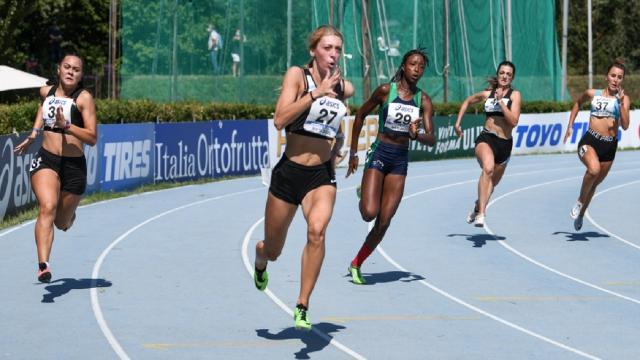 Atletica leggera, a Rieti altro record regionale per l'ascolana Angelini sui 100 metri