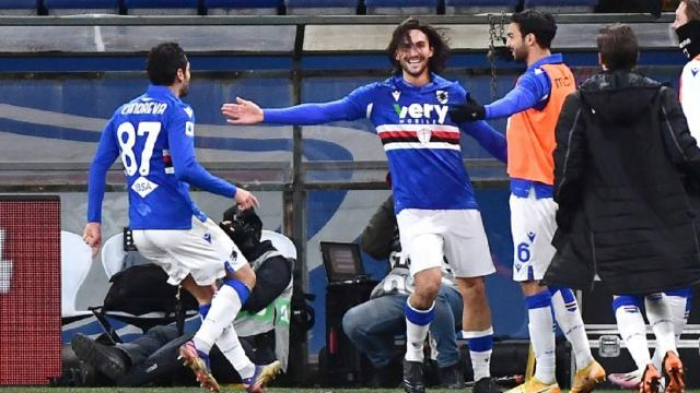 Sampdoria-Udinese 2-1, highlights