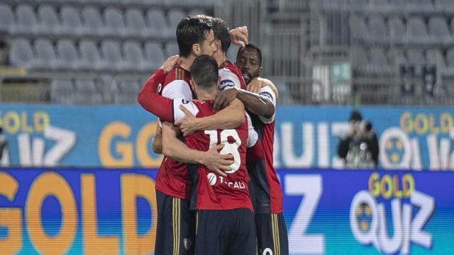 Cagliari-Bologna 1-0, highlights. Seconda vittoria consecutiva per Semplici