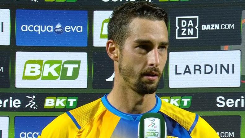 Frosinone-Ascoli 1-0, Salvi: ''A volte mi riescono queste giocate. Importante tornare a vincere in casa''