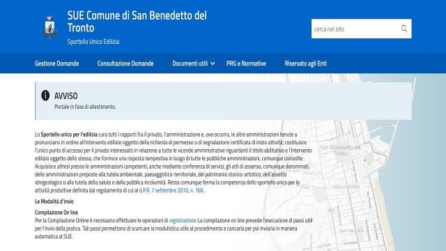 San Benedetto del Tronto: Sportello Unico dell'Edilizia, domande solo online