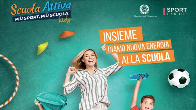 Scuola Attiva Kids, anche nelle Marche il progetto per promuovere attività fisica e cultura del benessere
